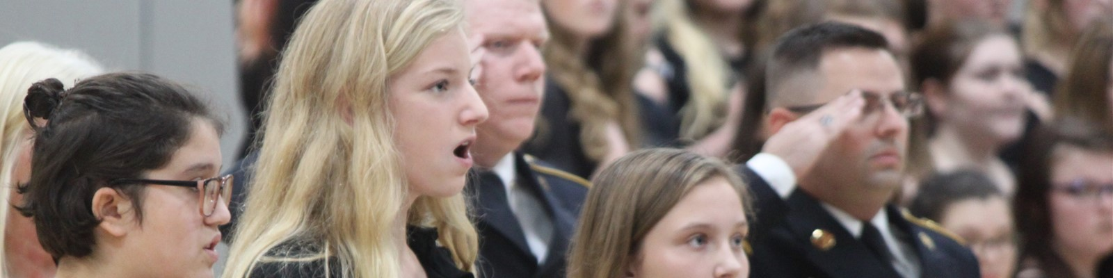 Choir at Veteran's Day