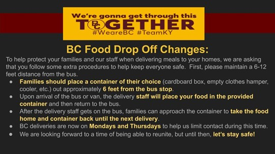 Food Drop Off Change Graphic