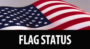 Click to follow current flag status updates