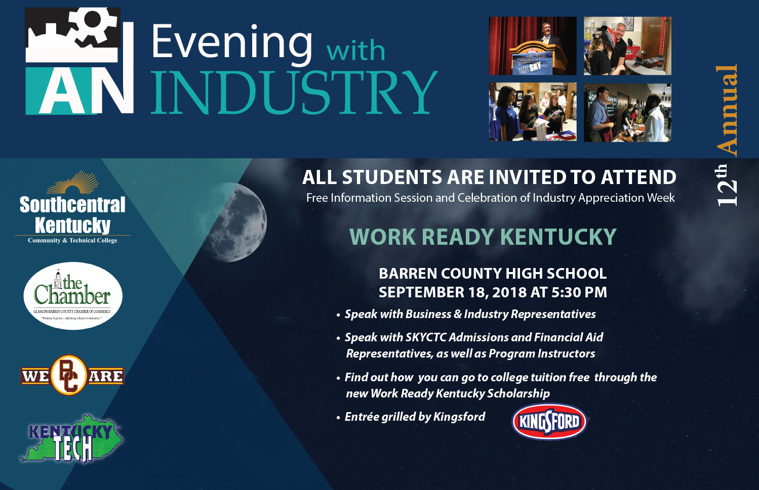 Evening with Industry