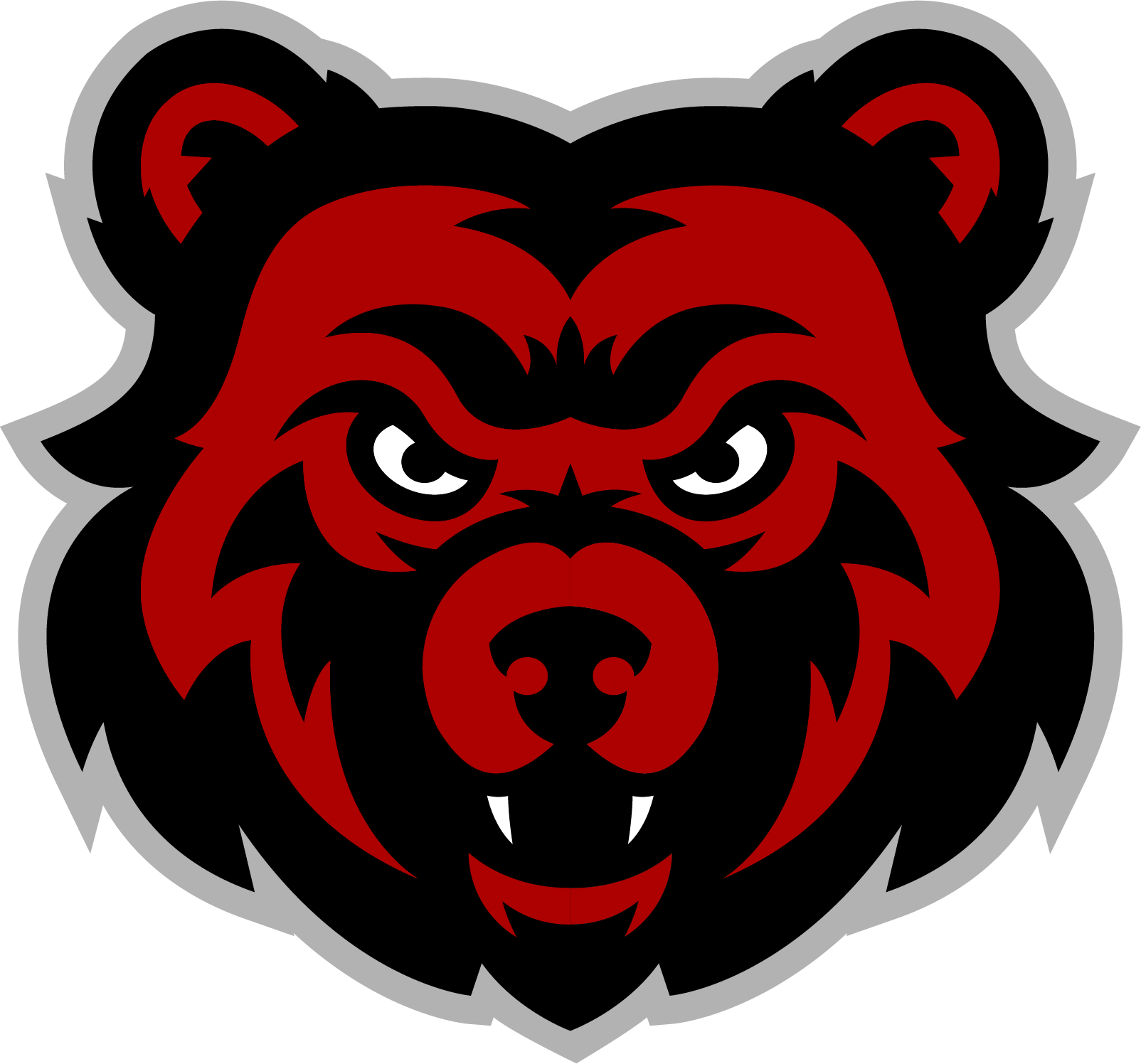 Park City Elementary logo of black bear